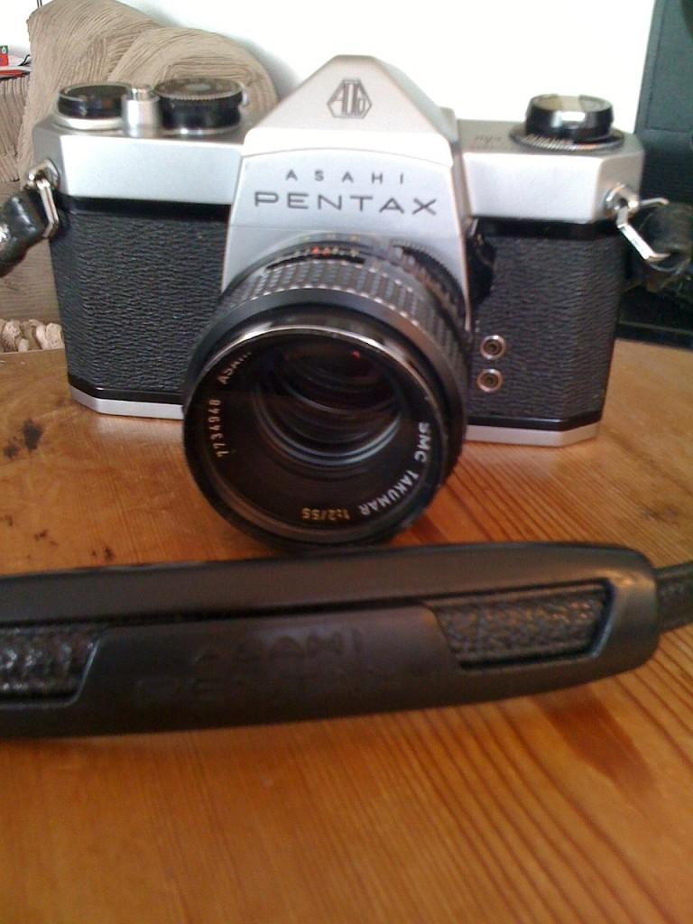 Pentax SP 500 -Takumar 1:2/55mm lens